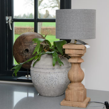 Robuuste balusterlamp Blocco L